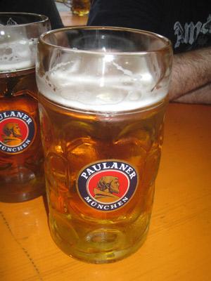 cerveza alemana, paulaner